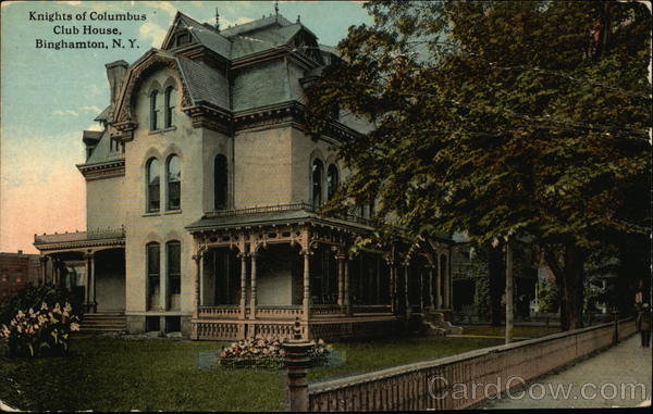 Knights of Columbus Club House Binghamton New York