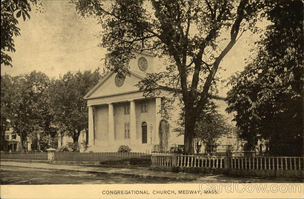 Congregational Church Medway Massachusetts