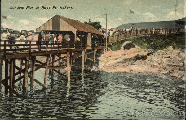 Landing Pier at Bass Point Nahant Massachusetts