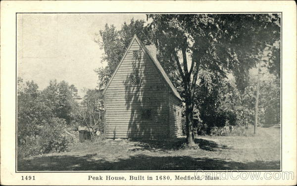 Peak House Medfield Massachusetts