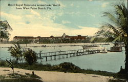 Hotel Royal Poinciana Across Lake Worth