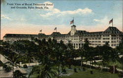 Royal Poinciana Hotel and Grounds Postcard