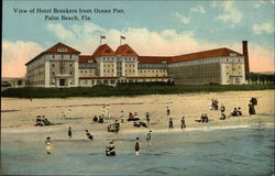 View of Hotel Breakers from Ocean Pier