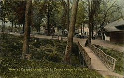 View at Canadarago Park Postcard