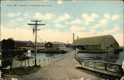 Entrance to Portsmouth Navy Yard