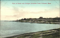 View of Beach and Cottages, Jerusalem Road
