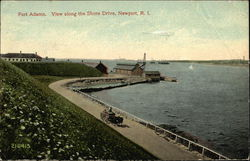 Fort Adams - View along the Shore Drive