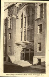 Commercial High School - Main Entrance