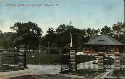 Entrance Gates, Fairview Park