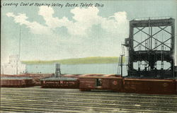 Loading Coal at Hocking Valley Docks