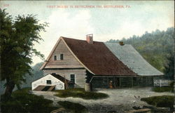 First House in Bethlehem 1741
