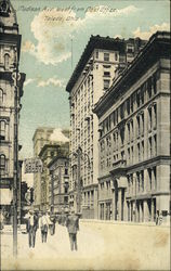 Madison Ave West from Post Office