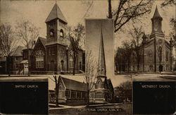 Baptist, Presbyterian and Methodist Churches