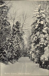 Winter Scene, Adirondacks
