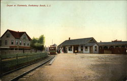 Depot at Hammels, Rockaway Beach