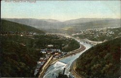 Mauch Chunk from Flagstaff