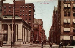 Locust St. East from 8th Postcard