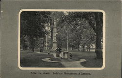 Soldiers Monument & Cannon