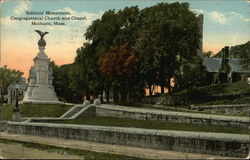 Soldiers' Monument, Congregational Church and Chapel