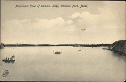 Panoramic View of Whalom Lake