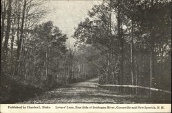 Lovers' Lane, East Side of Souhegan River, Greenville