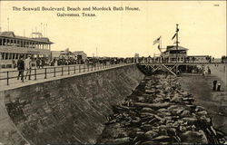 The Seawall Boulevard, Beach and Murdock Bath House