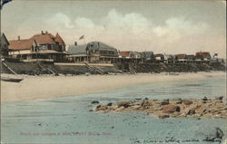 Beach and Cottages at Bluff
