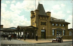 Lehigh Valley R. R. Passenger Station