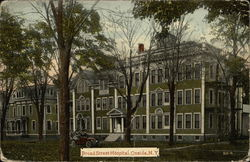 Broad Street Hospital Postcard