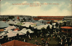 Agricultural Implement Section, New York State Fairgrounds