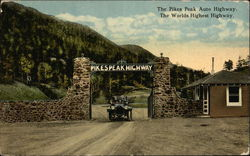 The Pikes Peak Auto Highway