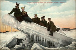 Nome's Quintet Stuck on a Sliver Postcard