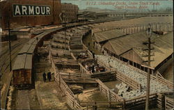 Unloading Docks, Union Stock Yards