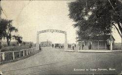 Entrance to Camp Devens