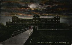 Old Orchard House at Night