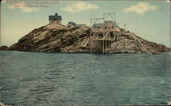 Egg Rock, Showing Landing