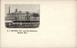 E. V. Mitchel Co's, Noted Hat Manufactory