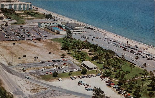 Aerial View of Lake Worth Beach Florida