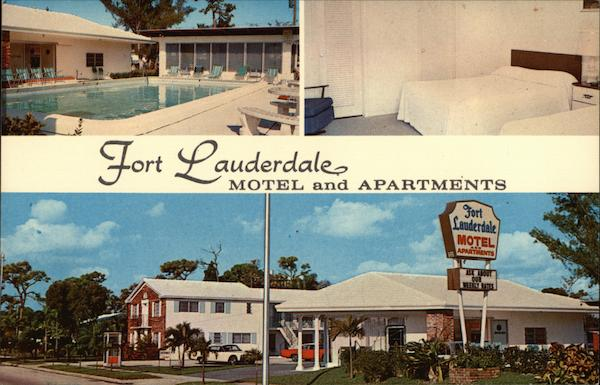 Fort Lauderdale Motel and Apartments Florida Bill Bennett Studios