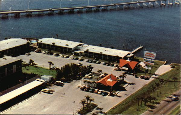 Howard Johnson 39 S Motor Lodge Punta Gorda Fl Postcard