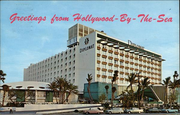 Greetings From Hollywood-By-The-Sea Florida W. W. Willard