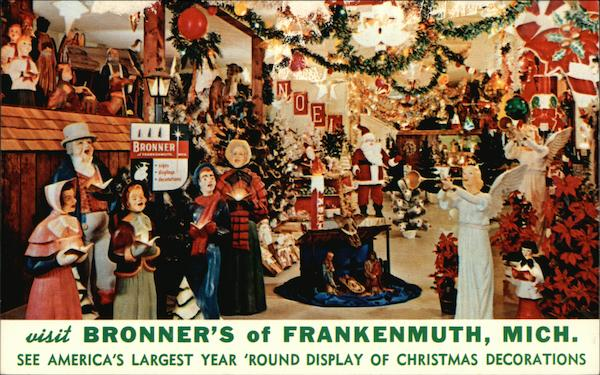 Bronner's - Gifts and Decorations Frankenmuth Michigan