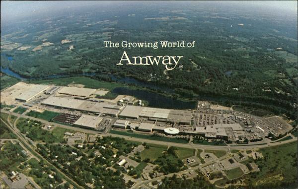 Amway World Headquarters Ada, MI Postcard: https://www.cardcow.com/492481/amway-world-headquarters-ada