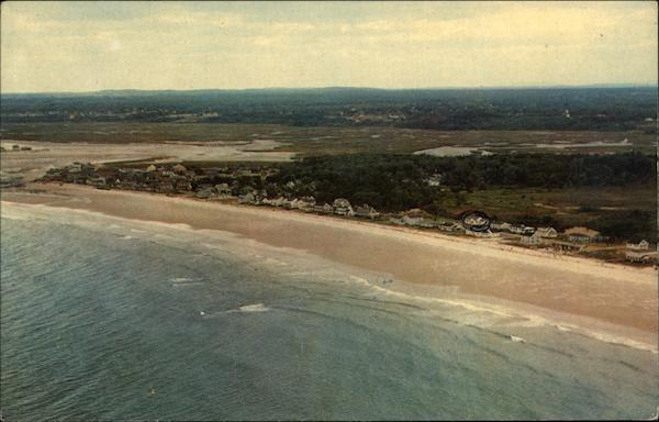 Airview of Drakes Island Wells Maine
