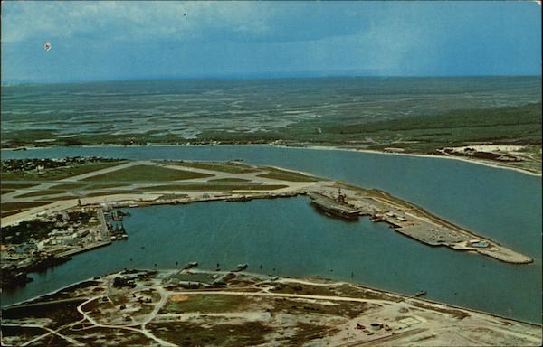 Aerial View of Carrier Basin Mayport Florida
