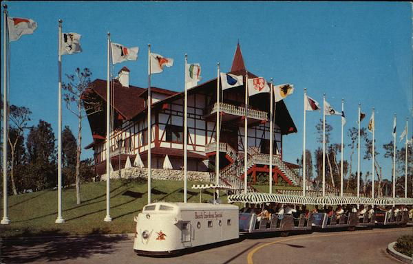 Busch Gardens Special and Old Swiss House Tampa FL Postcard