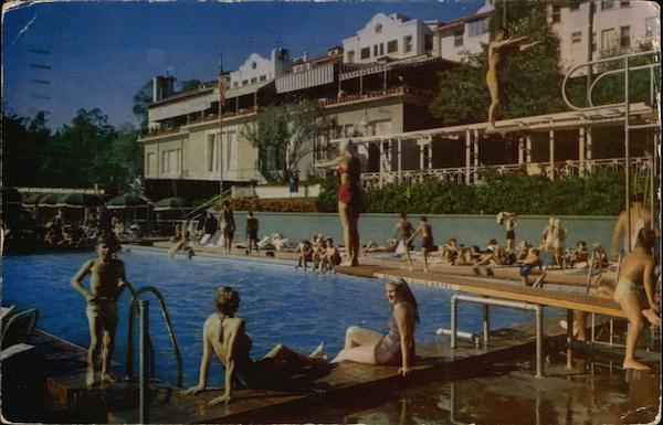 Beverly Hills Hotel Swimming Pool California