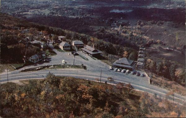 Aerial view of Wigwam and Western Summit North Adams Massachusetts