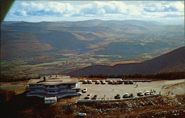Sky Line Inn Summit Of Mt Equinox Manchester Vt Postcard
