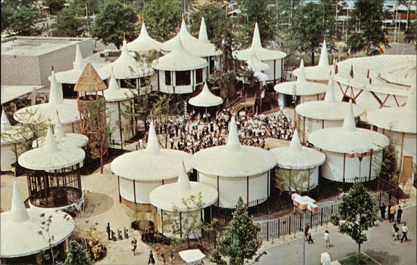 Africa Pavilion 1964 NY Worlds Fair